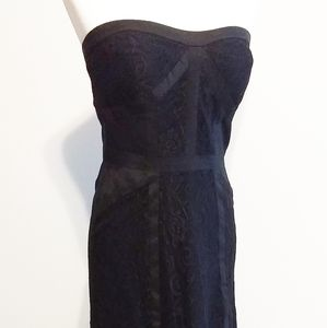 Jessica Simpson formal black dress
